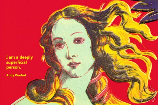 warhol_birth_of_venus_red_quote